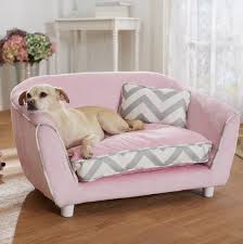 Cute Puppy Beds Fancy Luxury Medium Dog Couch Bed Sofa Pet Beds Furniture Pink 20