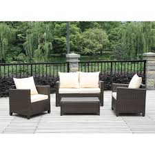 Plastic Wicker Furniture Outdoor Wicker Patio Furniture Sale Front Yard Landscaping Ideas