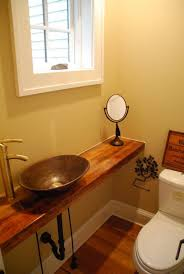 half bathroom designs best 25 tiny half bath ideas on rustic shelves half