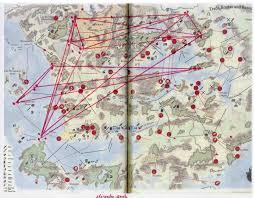 Faerun Map Leylines Of Faerun Album On Imgur