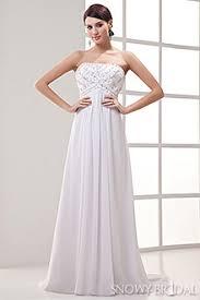 empire wedding dresses 2016 empire waist bridal gowns snowybridal