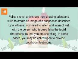 what is a police sketch artist youtube