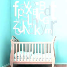 Alphabet Wall Decals For Nursery Letter Wall Decals Plus Oversized Letters Wall Decor Wall Decals