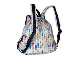 lesportsac voyager backpack lyst