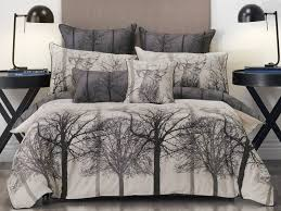stag black quilt cover set by bianca planet linen