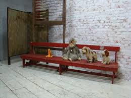 itsthat antique childrens bench