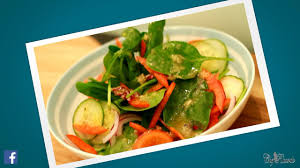 amazing healthy salad for diet chef ricardo salad bar youtube