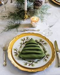 diy tree napkin tutorial from holidays 2017 southern magazine