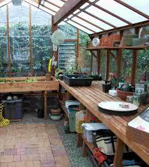 Marvellous Design 2 Greenhouse Interior Plans Green House Homepeek