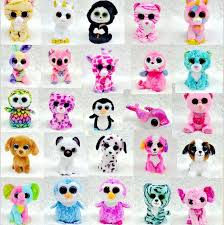 wholesale 1pc ty beanie boos big eyes small unicorn plush toy