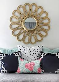 Gold And Coral Bedroom Gold Accents Decorating Pinterest Gray Lights And Gold