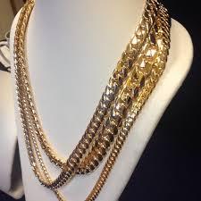 gold necklace wholesale images Wholesale miami cuban link gold chains cuban links direct jpg