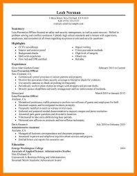 Job Desk Safety Officer 8 Loss Prevention Associate Job Description Budgets Examples