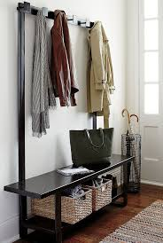 naples hall stand entryway coat rack and storage bench bench