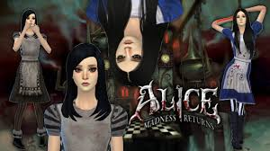Alice Madness Returns Halloween Costume Sims4 Creating U0027alice Madness Returns U0027 Sim