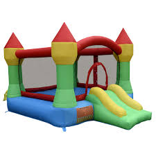 costway inflatable mighty bounce house castle jumper moonwalk
