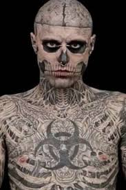 full body skeleton tattoo guy pictures to pin on pinterest