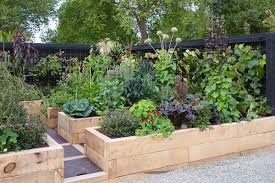 beautiful vegetable gardens plus design tips and ideas