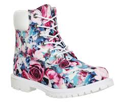 buy boots uk buy floral exclusive timberland premium 6 boots from office co uk