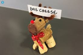 how to make adorable wine cork reindeer simplemost