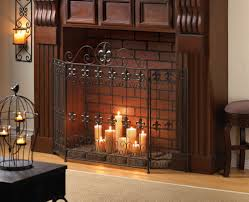 simple iron fireplace cover interior design ideas best and iron