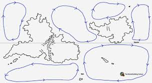 Map Of Ocean Currents How To Weather The Storm Of Prevailing Winds And Oceanic Currents