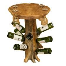 wine rack side table java teak root trunk wine table teak root furniture solid teak