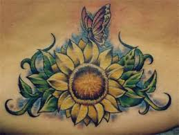 sunflower tattoo images u0026 designs