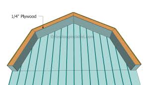 how to build a gambrel roof shed howtospecialist how to build