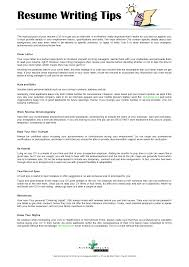 Example Of Making Resume Resume Completing A Resume