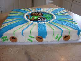 ipsy bipsy bake shop sports theme baby shower cake