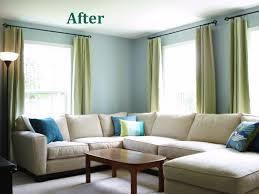 Before And After Living Rooms by Heart Maine Home A New Blue Living Room Before And After