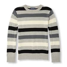 boys sleeve multi striped sweater the children s place