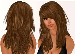 cute hairstyles for medium hair with side bangs and layers