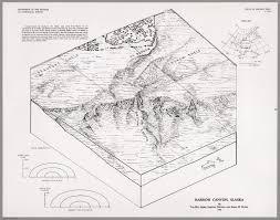 Barrow Alaska Map by Barrow Canyon Alaska David Rumsey Historical Map Collection