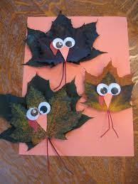 maple leaf turkey crafts for thanksgiving