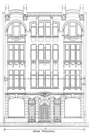House Architecture Drawing 1339 Best Elevations Images On Pinterest Facades Architecture