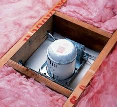 insulation around bathroom heater fan how to insulate an attic