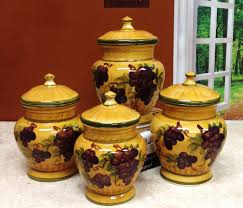 grape canister sets kitchen kitchen canister sets with flowers kitchen canister sets how to
