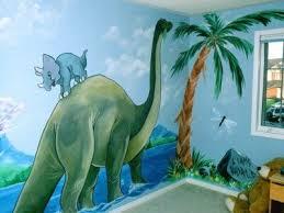 Kids Dinosaur Room Decor 55 Best Kids Murals Images On Pinterest Kids Murals Nursery