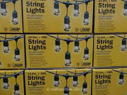 patio string lights costco best outdoor string lights 59 costco feit electric 48 ft for the