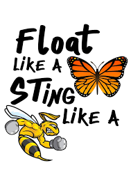 float like a butterfly sting like a bee by elwafttos on deviantart