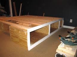 Platform Bed With Storage Underneath Ideas Platform Bed With Storage Underneath Bedroom Unbelievable