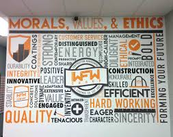 wall graphics wraptor signs graphics wall graphics with motivational messaging and 3d logo