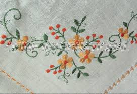 EMBROIDERY TABLECLOTH WHOLESALE  EMBROIDERY  ORIGAMI - Table cloth design