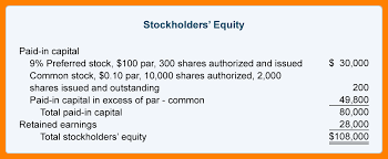 8 statement of stockholders equity example biology resume