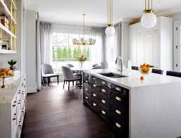 White Kitchen Base Cabinets Antique Brass Hardware Finish Kitchen Transitional With White
