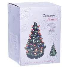 green vintage light up ceramic christmas tree retrofestive ca