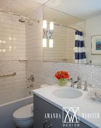 Recycled Bathroom Vanities by White And Gray Kid Bathroom With White Recycled Tiles
