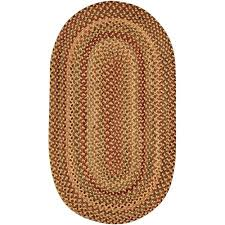 Oval Area Rugs Willow Bay Braided Oval Area Rug Walmart